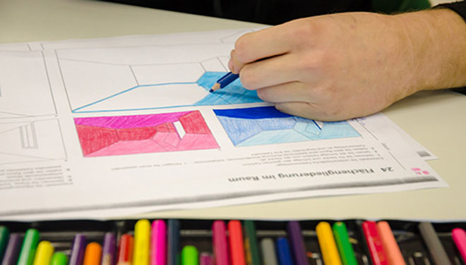 Berufsfeld farbtechnik und raumgestaltung for Raumgestaltung schule