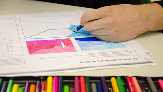 Berufsfeld farbtechnik und raumgestaltung for Raumgestaltung beruf